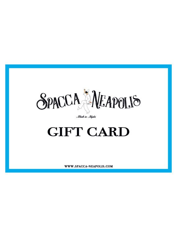 SPACCA NEAPOLIS GIFT CARD – 150€