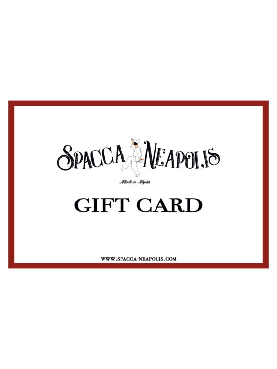 SPACCA NEAPOLIS GIFT CARD – 200€